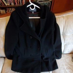 Covington brand hooded peacoat (XL)